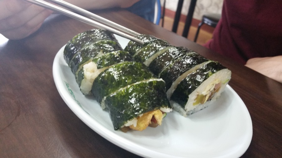Kimbap: The Korean Sandwich
